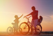 Father and Son on E-bike GPSPathfinder